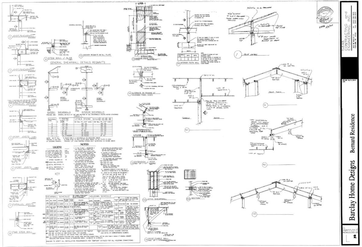 Rick Bernard Cottage in the Woods - Home Plans - Plan Details.