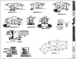 Rick Bernard Cottage in the Woods - Home Plans - Roof Sections and Entrance.
