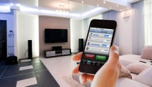 Mobile phone controlling home automation - NXP.