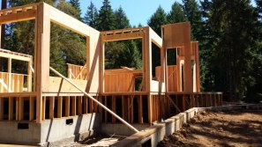 New Cottage in the Woods - Framing the house (24)
