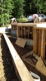 New Cottage in the Woods - Framing the house (7)