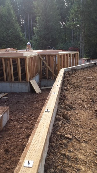 New Cottage in the Woods - Framing the house (8)