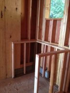 Cottage in the Woods - Inside Walls structure