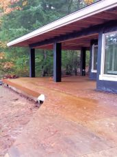 New Cottage in the Woods - Rick Bernard - Construction - Sheet Rock Stage (73)