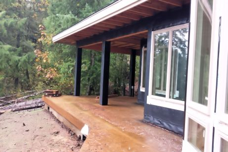New Cottage in the Woods - Rick Bernard - Construction - Sheet Rock Stage (75)