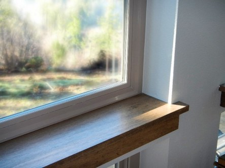 Windows - Wood trim details - New Cottage in the Woods with Rick Bernard