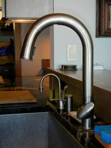 Kitchen Faucet - auto-sensor - New Cottage in the Woods with Rick Bernard