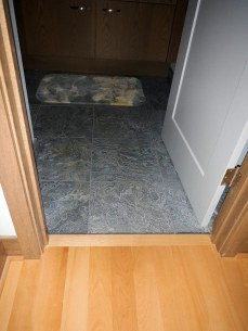 Master Bathroom Tile Floor - New Cottage in the Woods with Rick Bernard