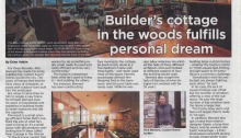 Oregonian Article on New Cottage in the Woods - November 29 2015.